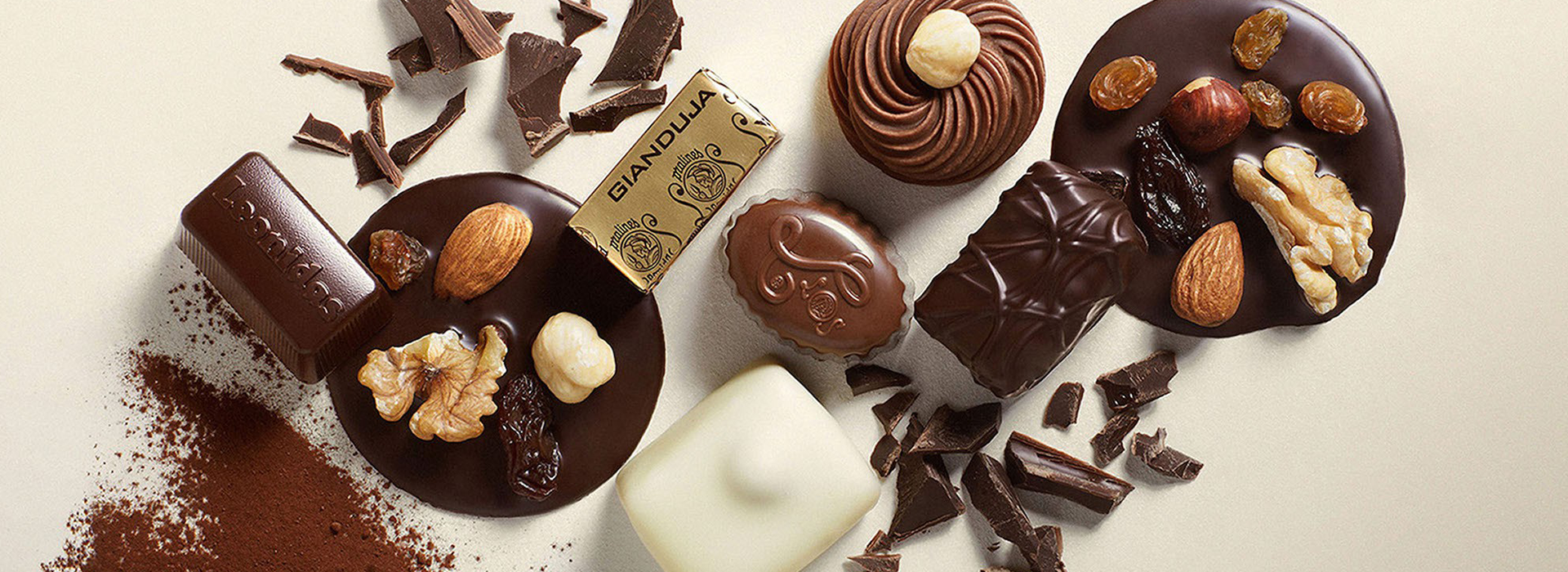 Assortiment pralines et chocolats Leonidas